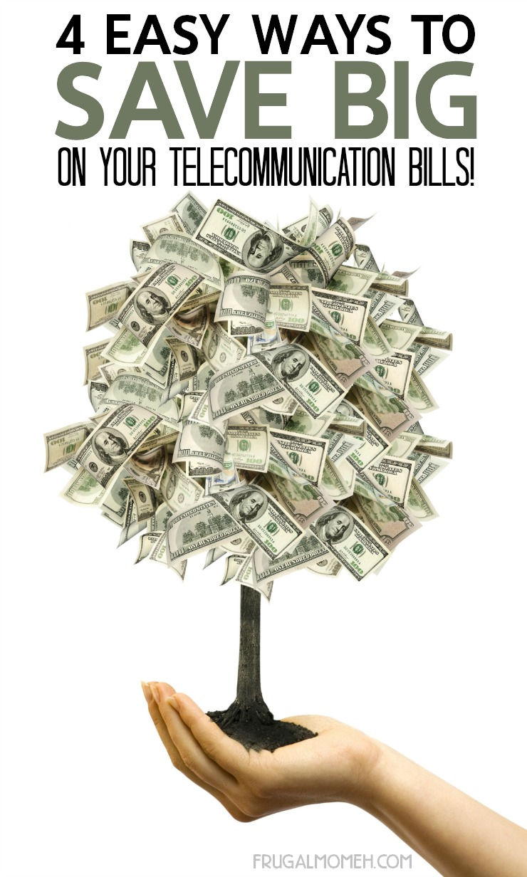 4 Easy Ways to Save Big On Your Telecommunication Bills!