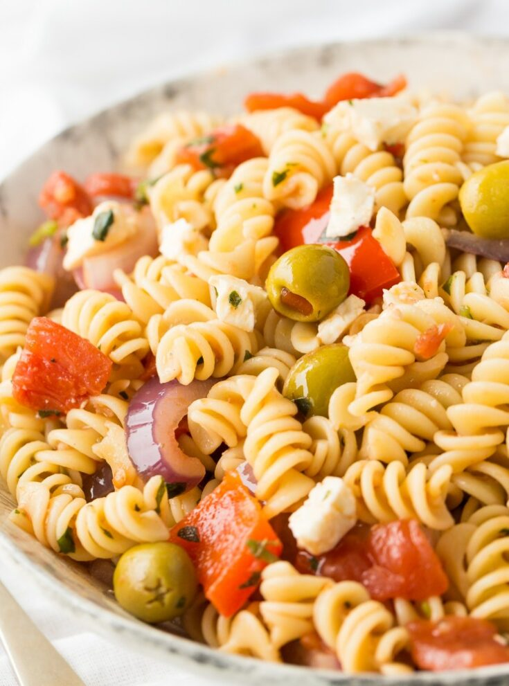 Easy Calabrese Pasta Salad