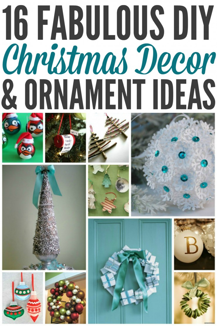 Much of my Holiday decorations are handmade which make them a little extra special and unique.  Enjoy these Christmas Decor and Ornament Ideas, they are truly amazing!
