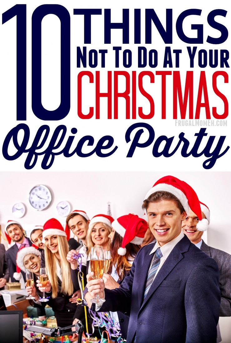 10 Things not to do at your Christmas Office Party