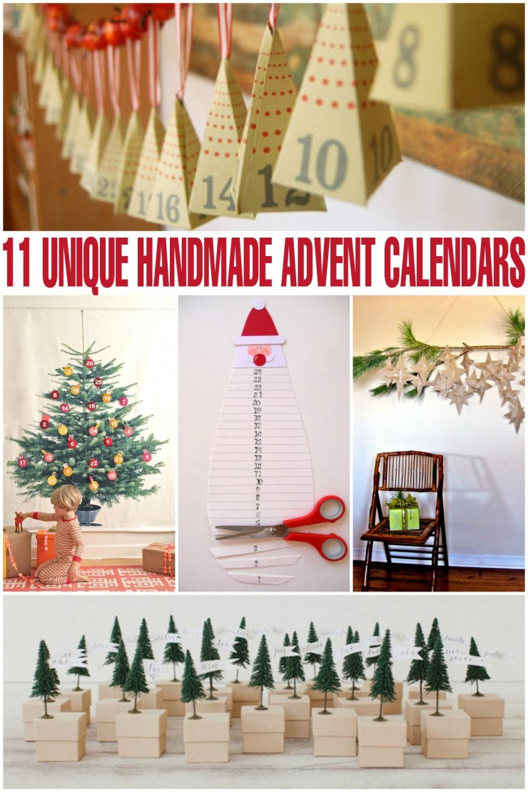 Unique Advent Calendar Ideas : Unusual diy advent calendars ideas house plans