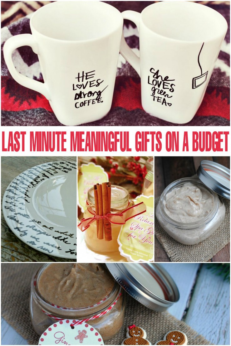 Last Minute Meaningful Gifts on a Budget perfect for Christmas, Holiday Gift Exchanges and more!  These are great DIY Gift Ideas people will love receiving!