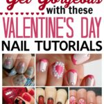 Valentines Day Nail Tutorials