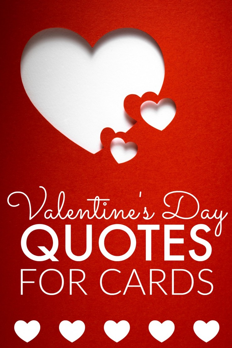 A Collection of Valentines Day Quotes for Cards