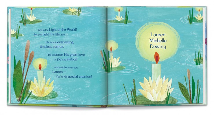 The God Loves You! personalized children's book