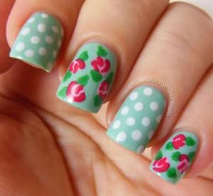 vintage-rose-nail-art-1