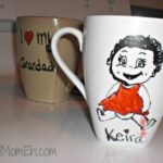DIY Personalised Mugs for Father's Day
