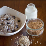 Bluberry Oatmeal