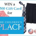 $500 Children's Place Gift Card Giveaway