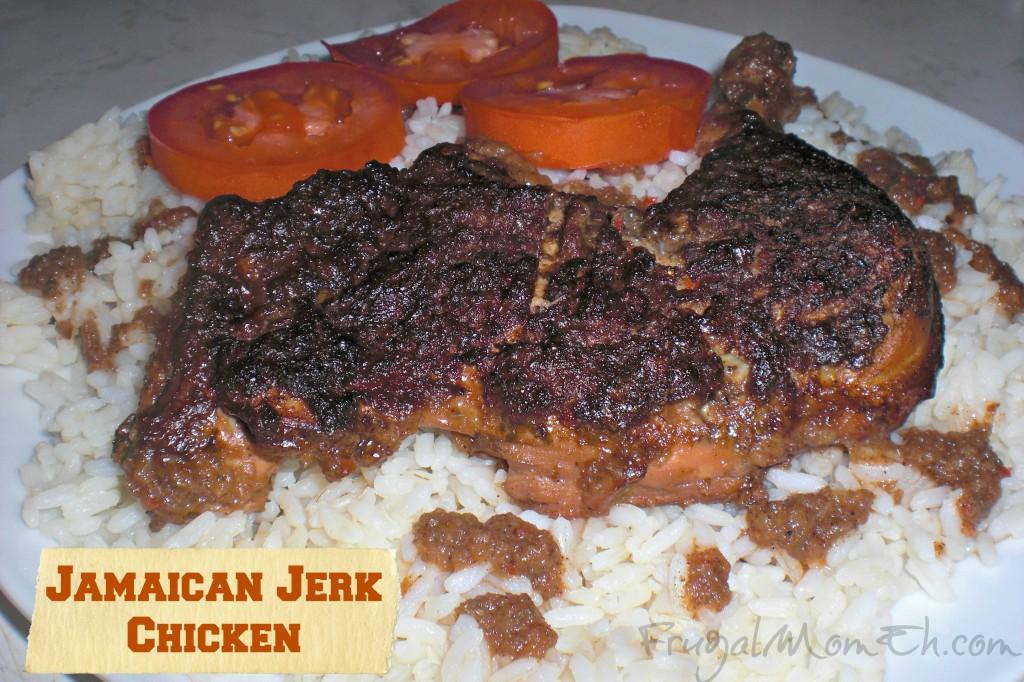 Jamaican Jerk Chicken - Frugal Mom Eh!