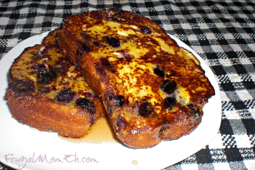 Blueberry Muffin Bread French Toast