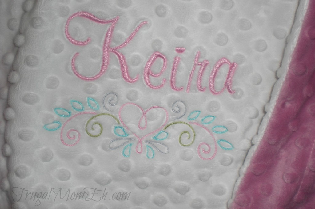 Sun 7 designs personalized and custom designed baby blankets cimg7044 negle Choice Image