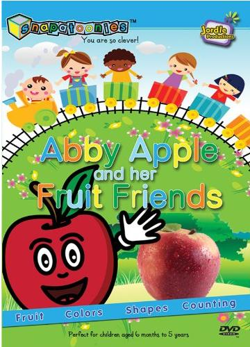 Snapatoonies, Abby Apple and her Fruit Friends, portable dvd player event