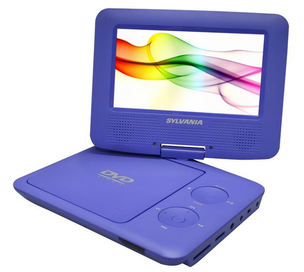 Sylvania 7-inch Portable DVD, portable dvd player