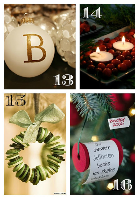 16 DIY Christmas Decor and Ornament Ideas