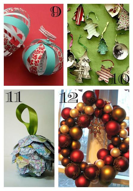 16 DIY Christmas Decor and Ornament Ideas