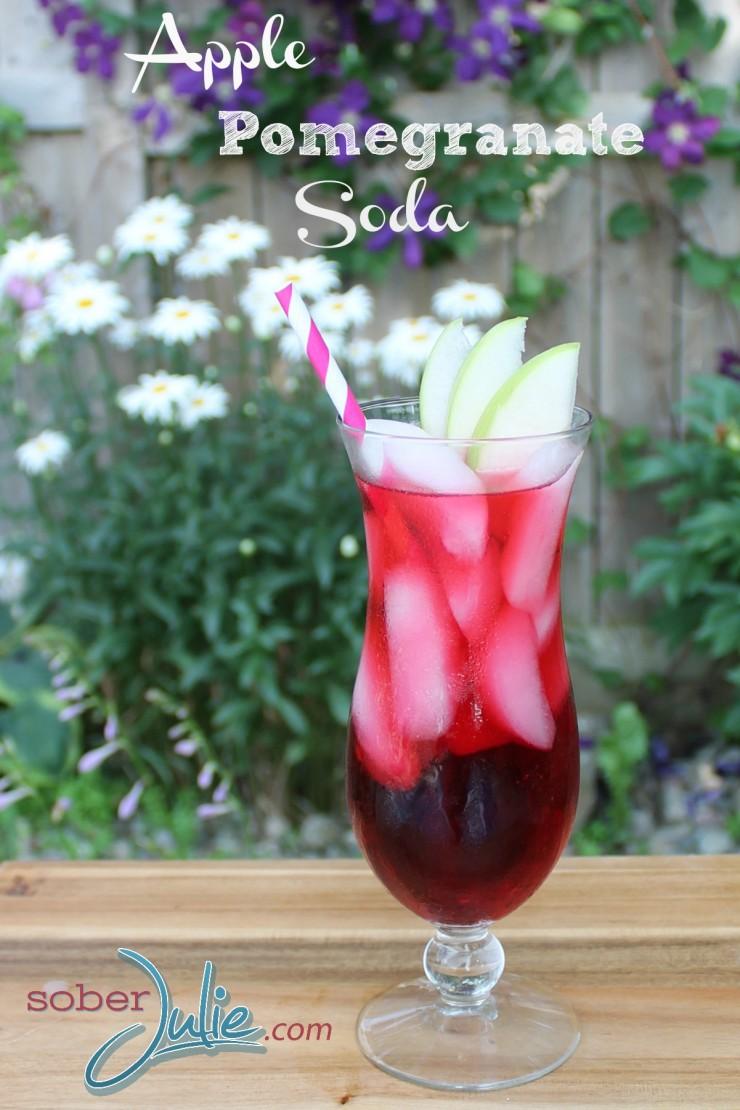 Apple-Pomegranate-Soda