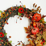 Autumn Harvest Thanksgiving Wreath