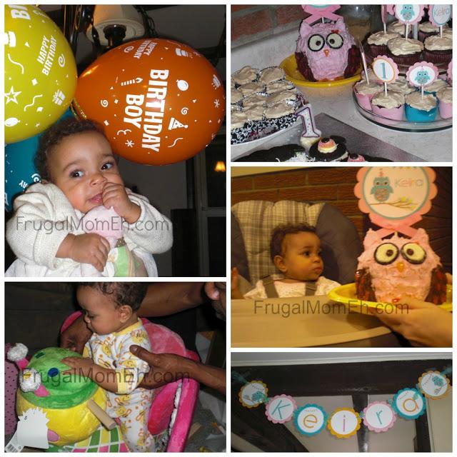 Owl 1st Birthday Party!