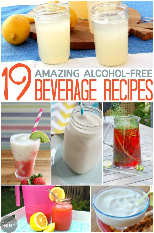 19 Amazing Alcohol-Free Beverage Recipes