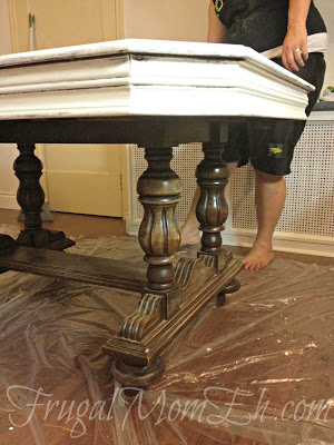 DIY Distressed Table