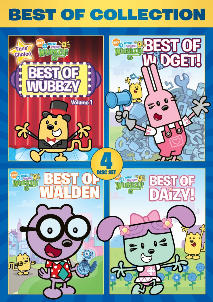 Best Of The Best 2017 By Colorado Community Media: Wow! Wow! Wubbzy!: Best Of Collection DVD Review