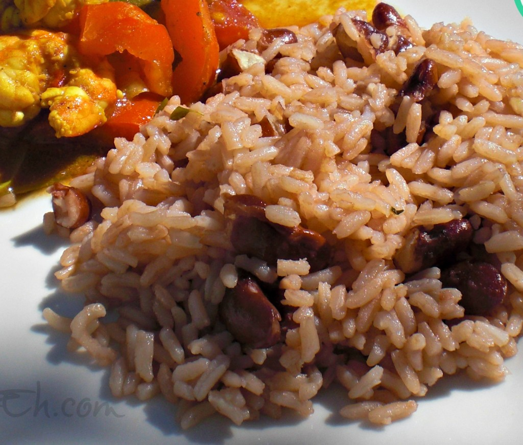 peas teche rice and peas sue lau jamaican rice peas jamaican rice ...
