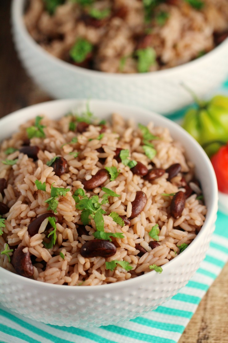 This Jamaican Rice and Peas recipe is an authentic recipe for a ...