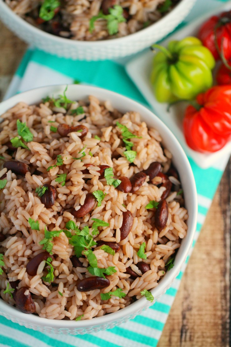 Jamaican Rice and Peas Recipe - Frugal Mom Eh!