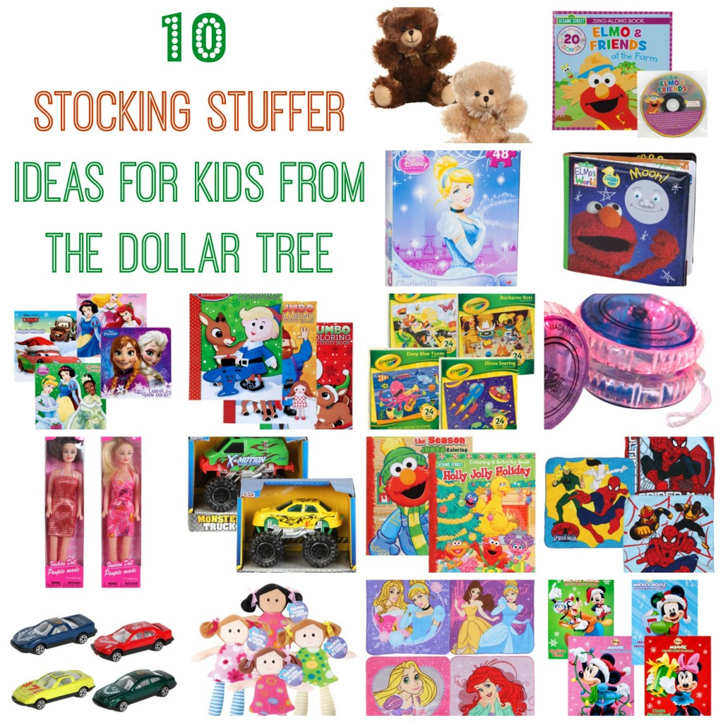 10 Stocking Stuffer Ideas for Kids from the Dollar Tree
