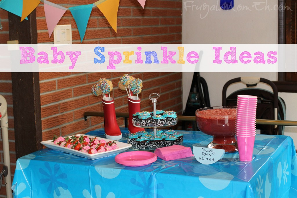 Welcoming A Second Baby With A Baby Sprinkle Frugal Mom Eh