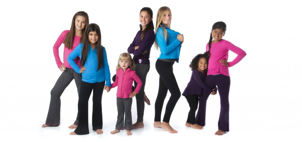 Athletic Wear for Girls from Jill Yoga