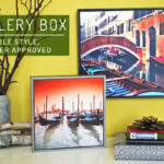 Gallery Box from Posterjack #FMEGifts