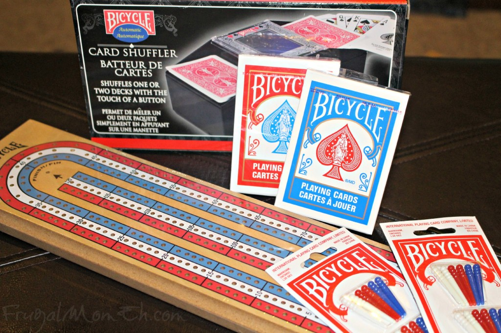 Bicycle Cribbage Set
