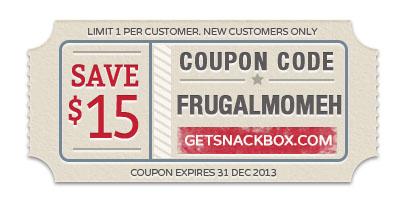 Snackbox Coupon Code