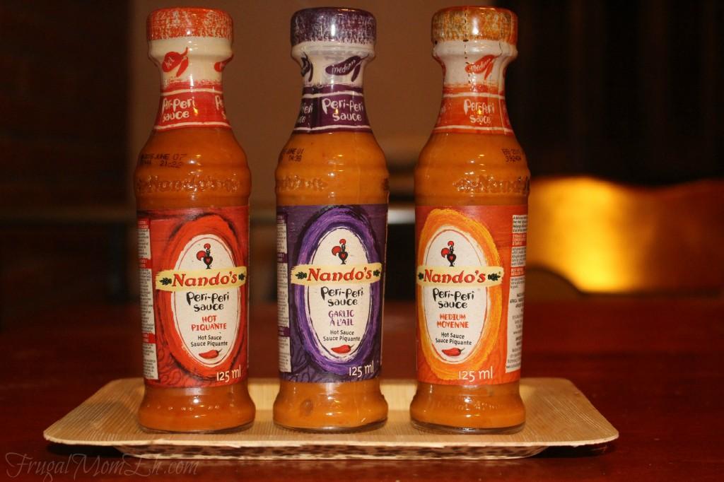 Nandos Piri piri chicken sauce