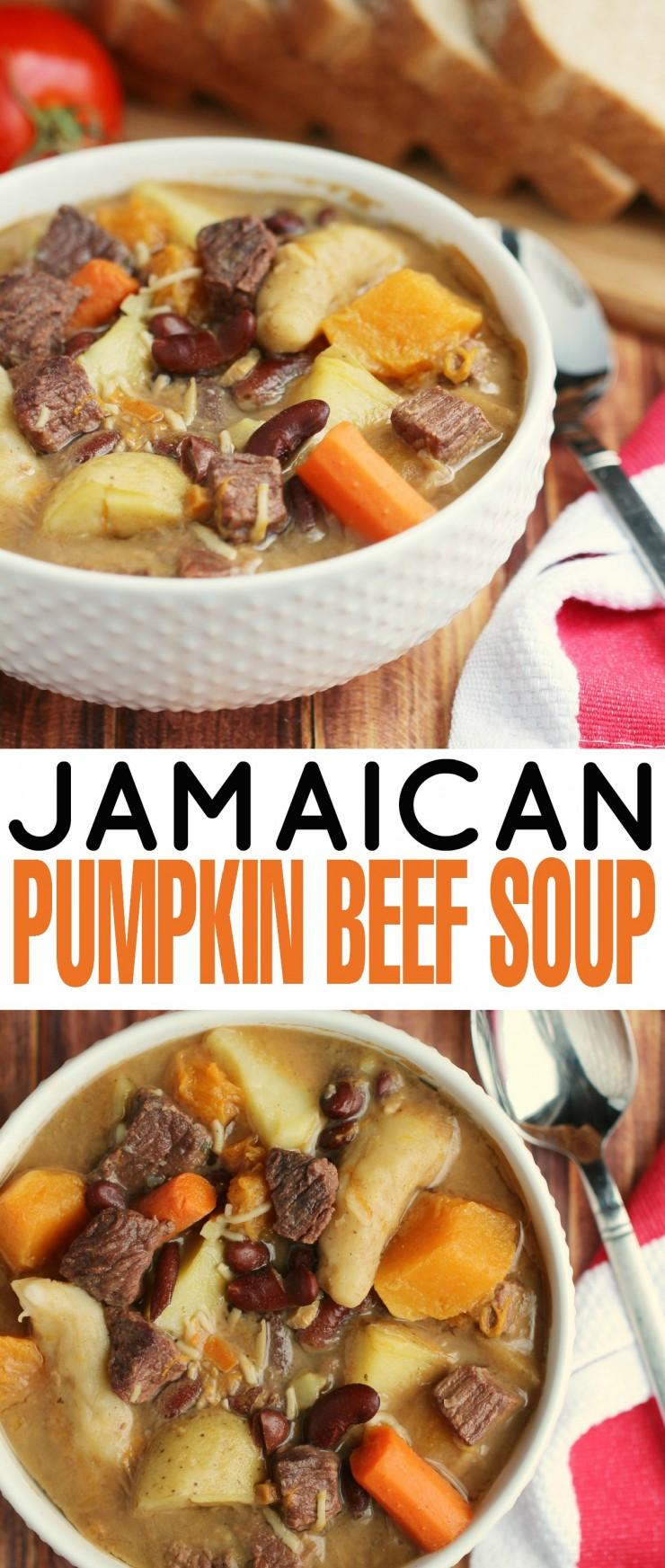 how to make jamaican pumpkin soup