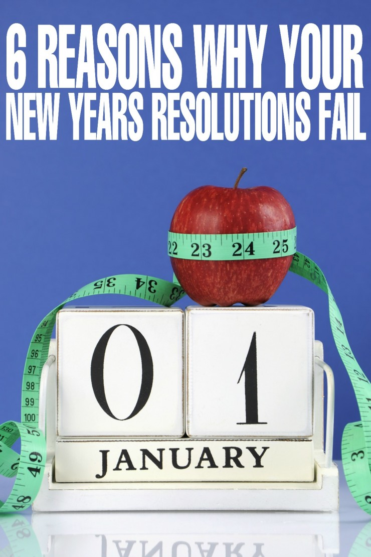 6 Reasons Why your New Years Resolutions Fail