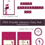 Free Printable Valentine's Party Pack