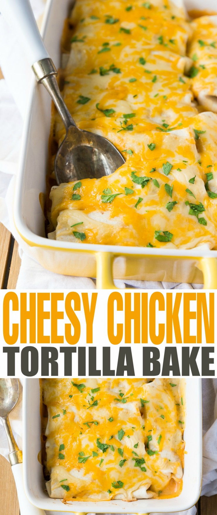 This is a delicious recipe my family has made for years.  An easy dinner filled with delicious cheese sauce and chicken.  The best part is that it is inexpensive and can be made ahead of time and reheated.  Plus, it freezes well too!