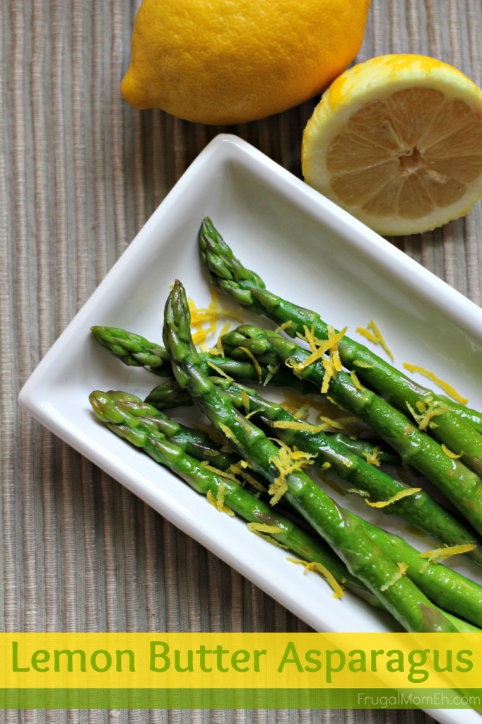 Lemon Butter Asparagus is a delicious way to prepare Asparagus - even the most avid asparagus haters will love this one!