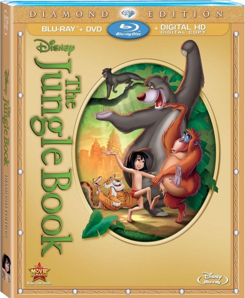 The Jungle Book: Diamond Edition Blu-Ray Combo Pack