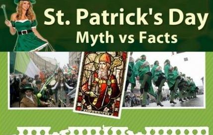 St. Patrick's Day Myths vs Facts