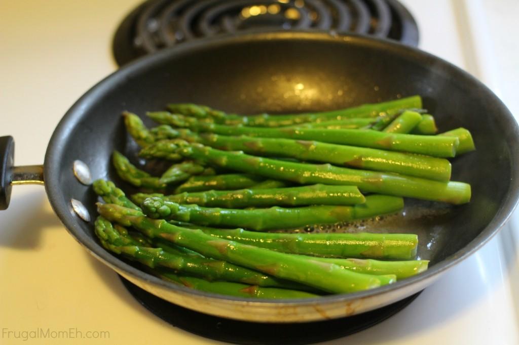Lemon Butter Asparagus Prep