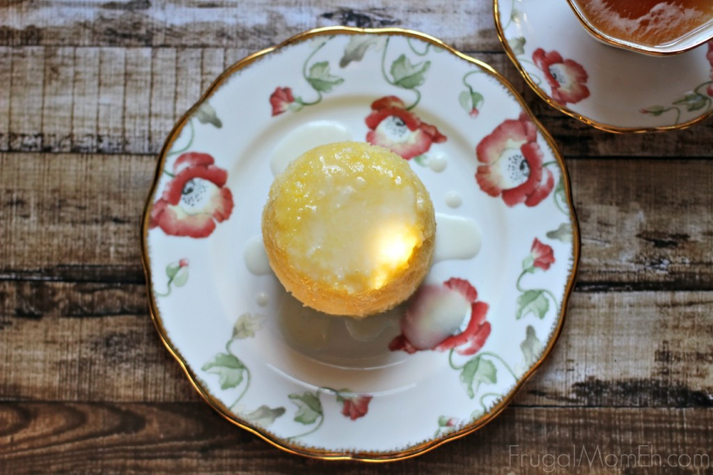 Double Lemon Mug Cake