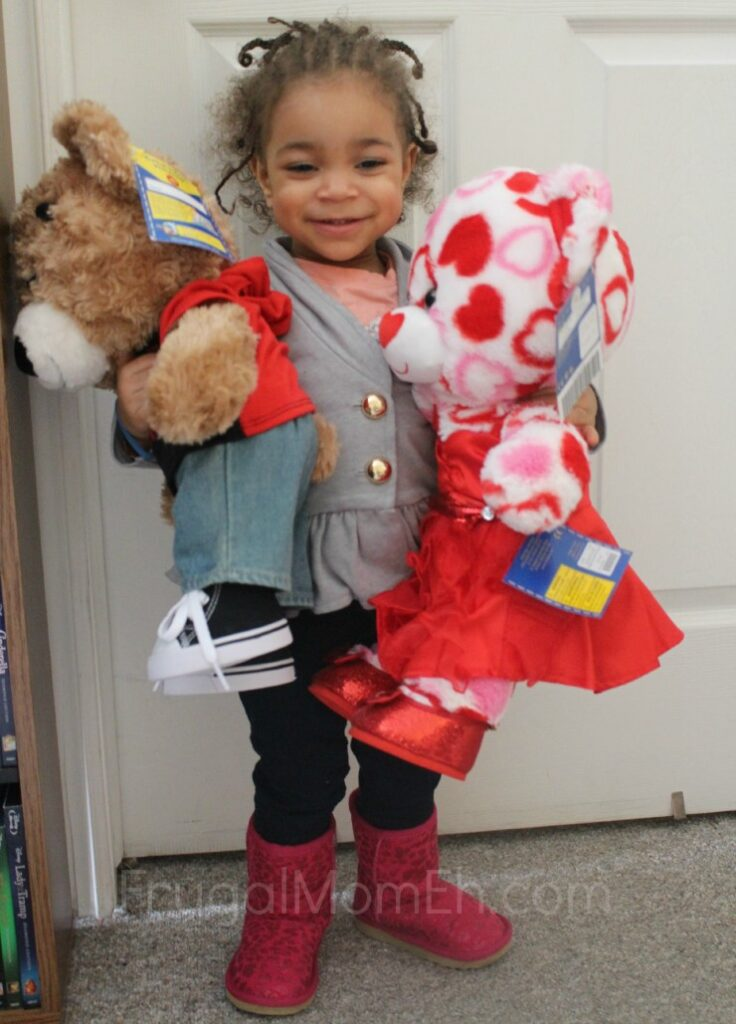 Valentine's Day at Build-A-Bear Workshop