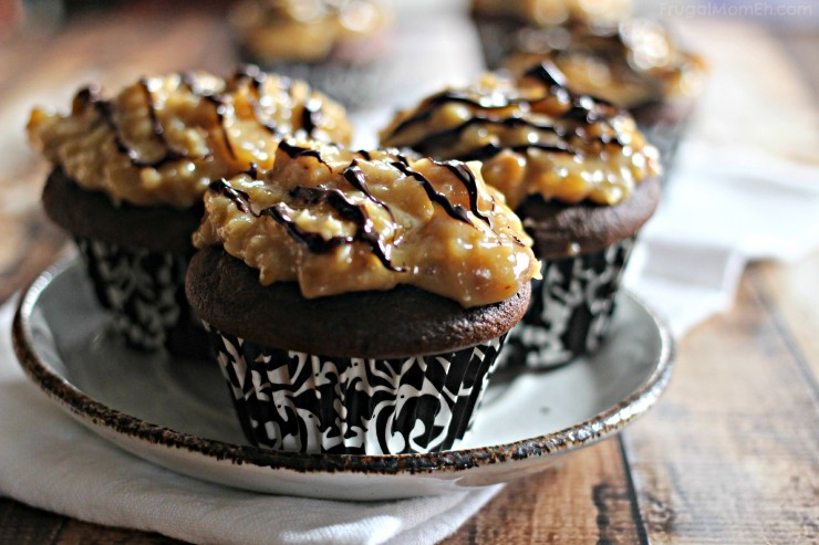 German Chocolate Cupcakes are a delicious chocolate dessert you will ...