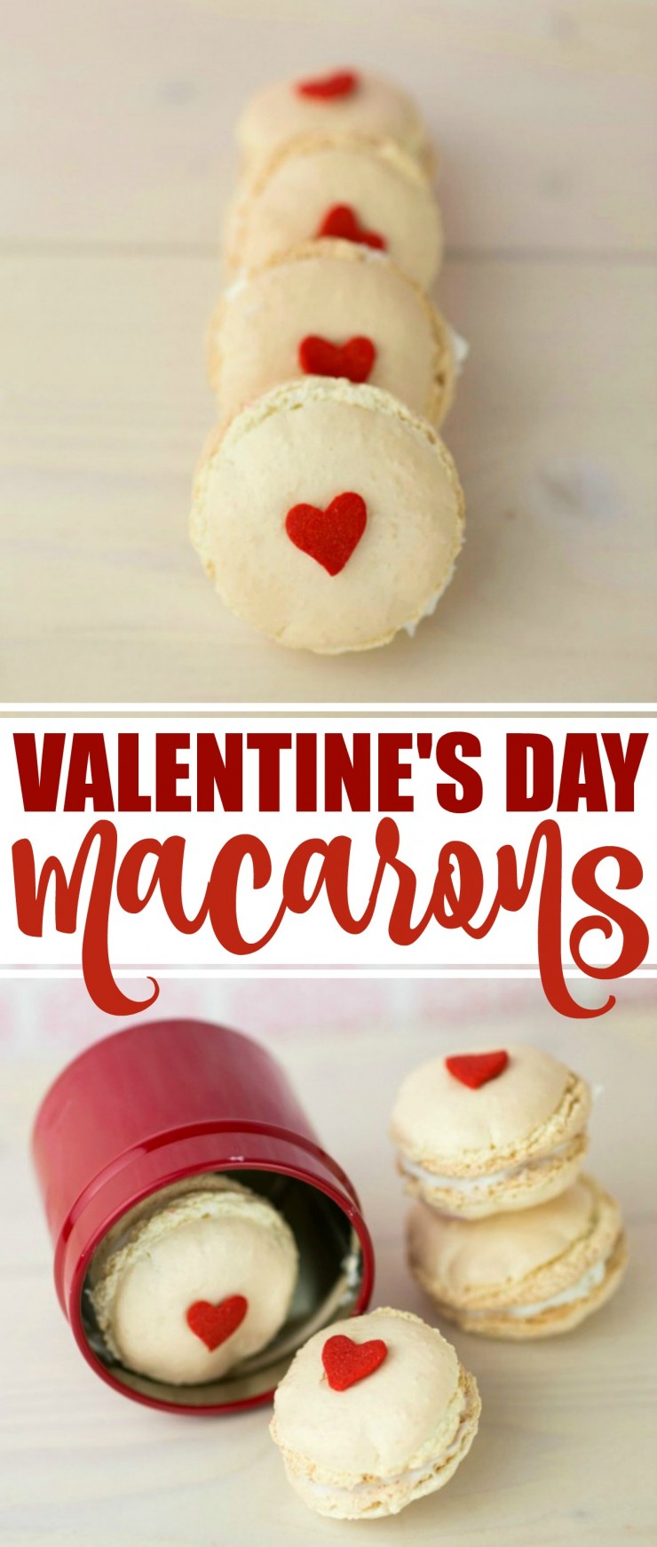 Macarons are a very popular delicacy loved by foodies for their delicate texture and gorgeous colours and these Valentines Day Macarons are no exception!.