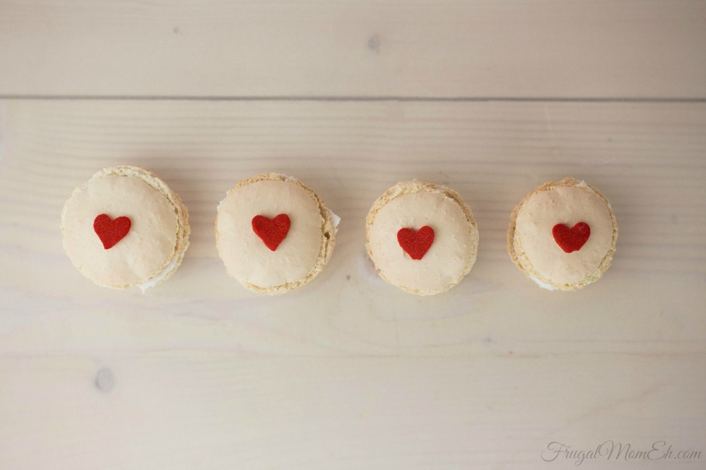 Macarons are a very popular delicacy in France but loved by foodies world wide for their delicate texture and gorgeous colours and these Valentines Day Macarons are no exception!.