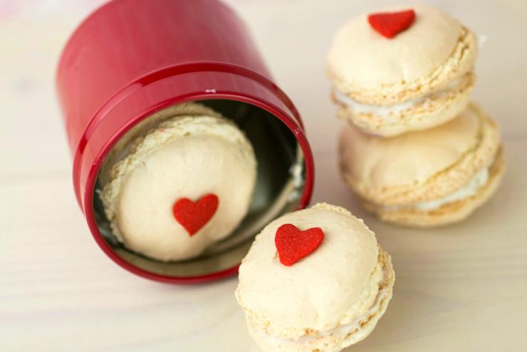 Valentine's Day Macarons